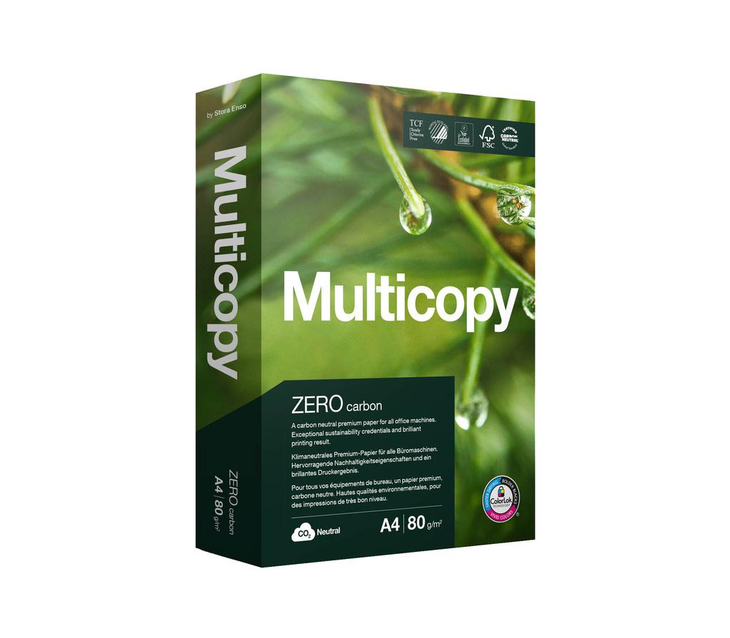 Xerografický papír Multicopy ZERO - A4 80g / 500 listů