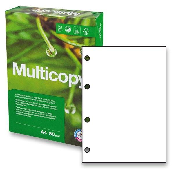 Xerografický papír Multicopy - A4 80 g / 500 listů / 4 díry