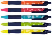 Kuličkové pero Semi - barevný mix