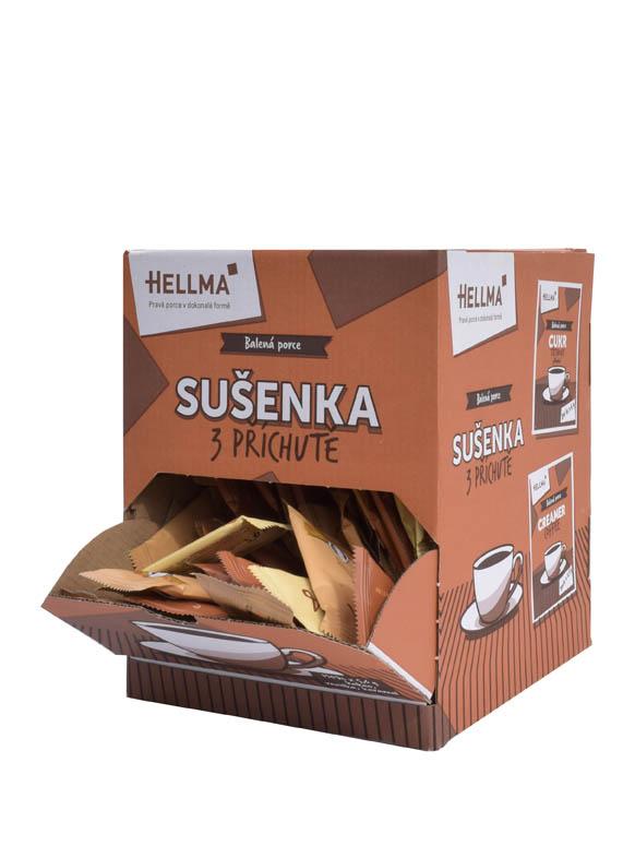 Sušenky ke kávě - 150ks / mix druhů
