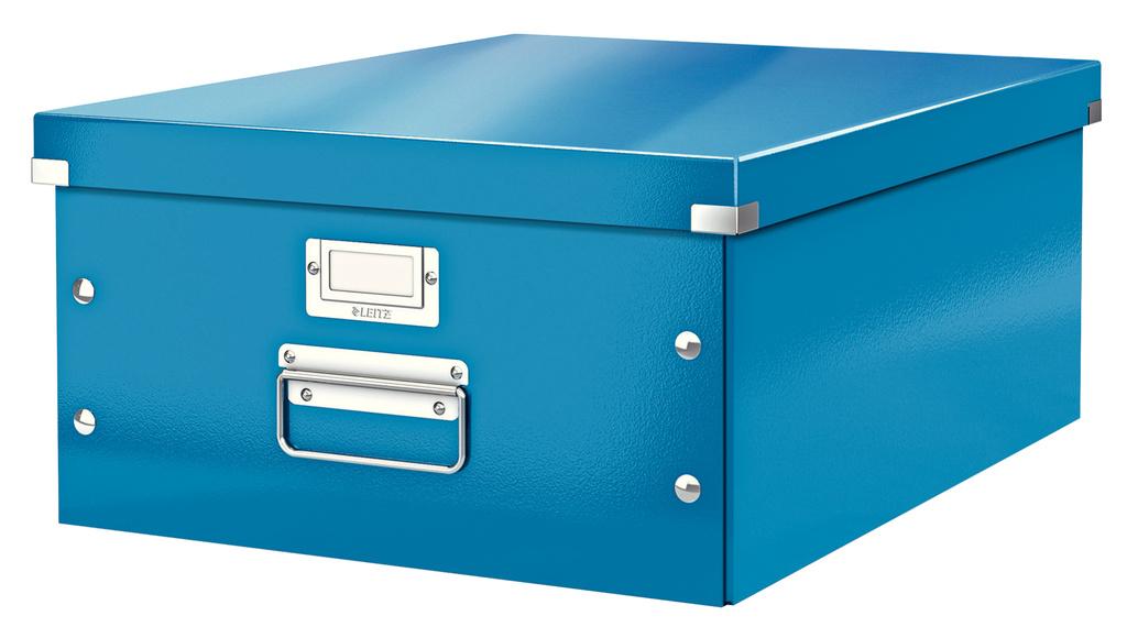 Krabice Leitz Click & Store - L velká / modrá
