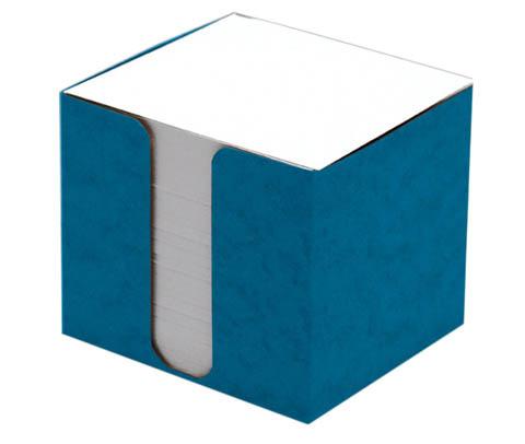 Zásobník na záznamní kostky přešpán - modrá