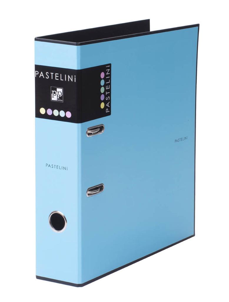 Pořadač A4 pákový PASTELINI - hřbet 7 cm / modrá
