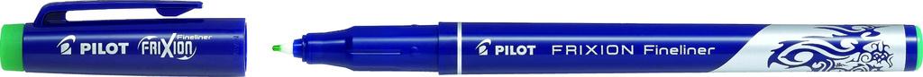 Liner Pilot FriXion Fineliner - zelená