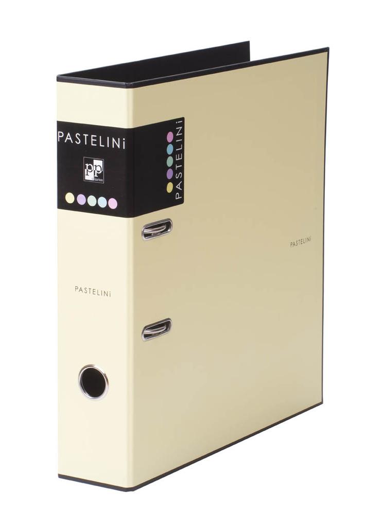 Pořadač A4 pákový PASTELINI - hřbet 7 cm / žlutá