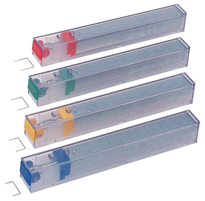 Spojovače pro velkokapacitní sešívačku Leitz - K10 (drátky 26 / 10) - 5 kazet á 210 drátků