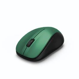Myš HAMA MW 300 bezdrátová - modrozelená