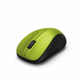 Myš HAMA MW 300 bezdrátová - žlutá