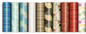 Papíry balicí dárkové - 70 x 200 / mix motivů