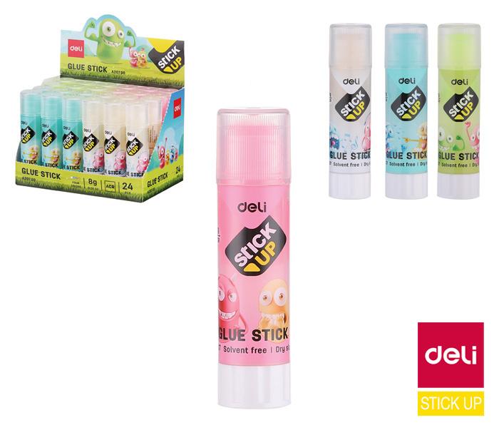 Lepidlo gelové DELI BUMPEES - 8 g / mix barev