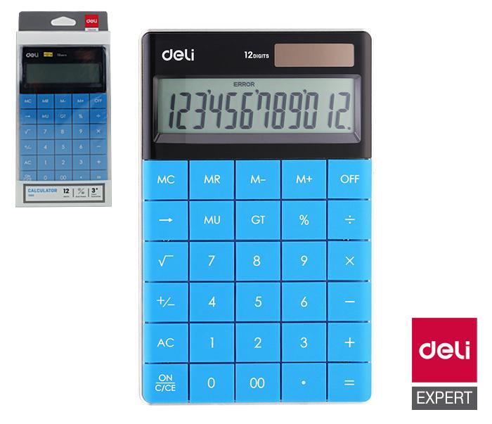 Kalkulačka DELI E1589 - modrá