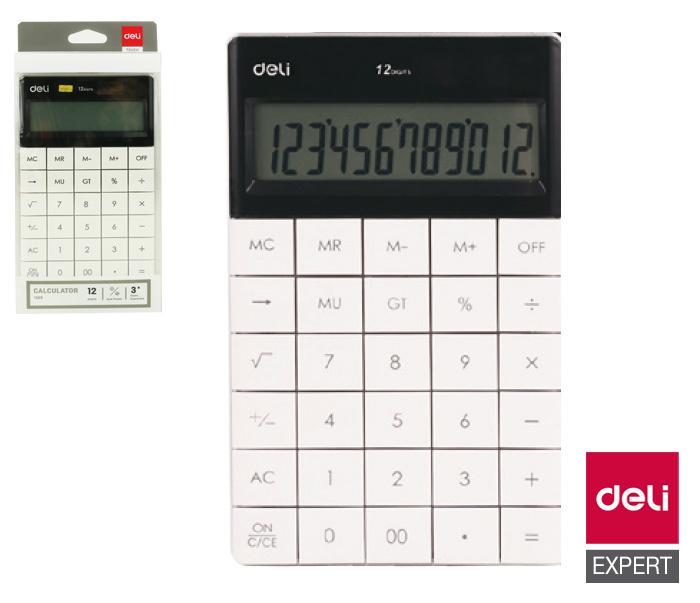Kalkulačka DELI E1589 - bílá