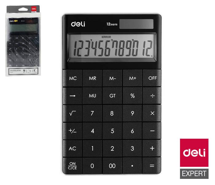 Kalkulačka DELI E1589 - černá