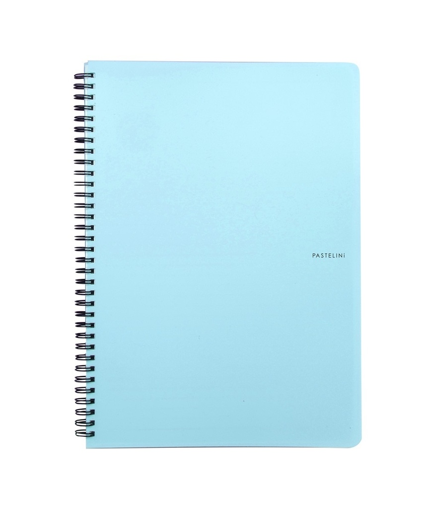 Blok kroužkový Pastelini - A5 / linka / modrá