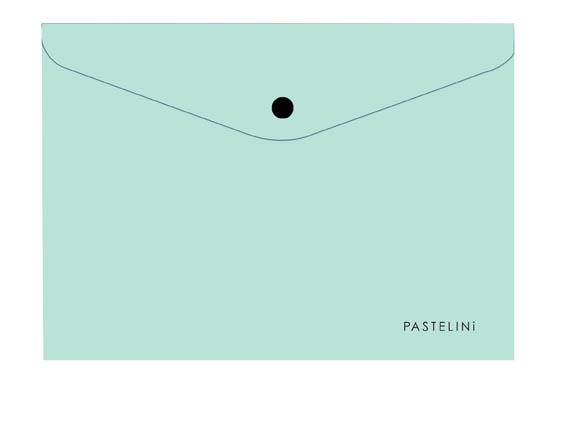 Spisové desky s drukem PASTELINI - A4 / zelená