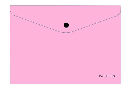 Spisové desky s drukem PASTELINI - A4 / růžová