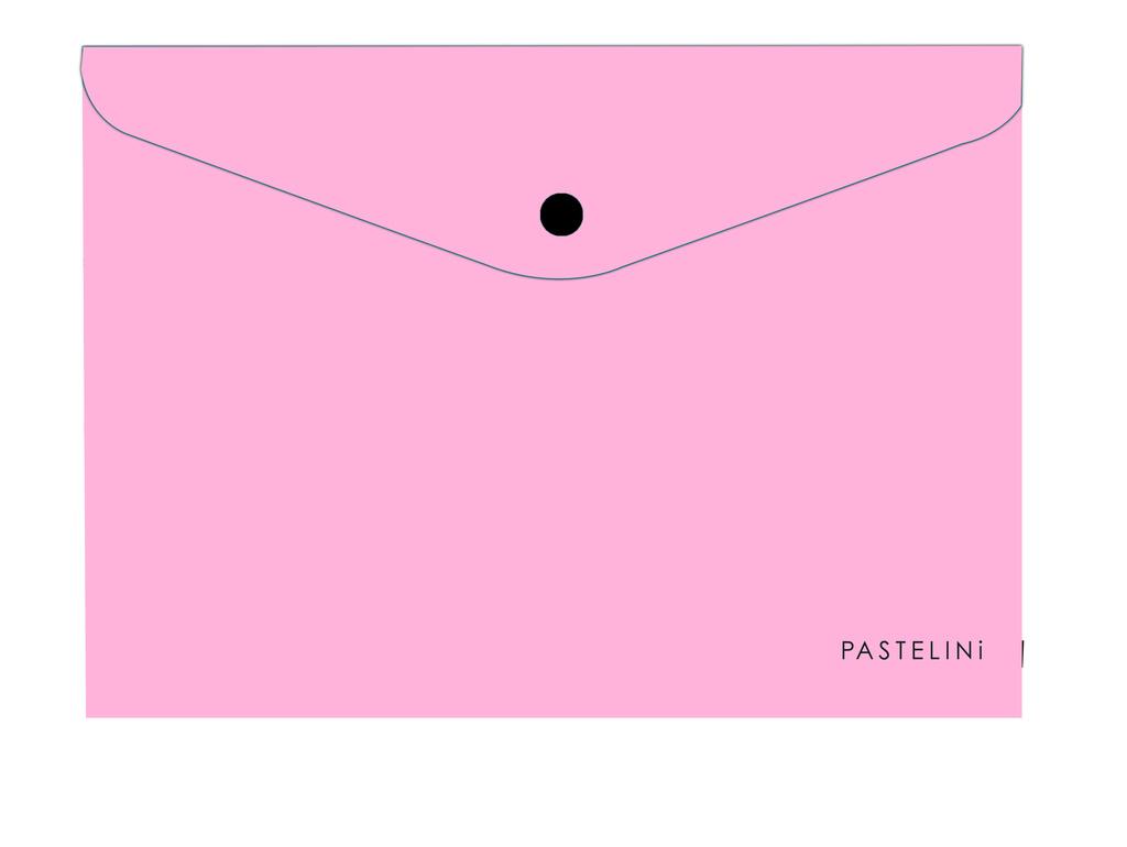 Spisové desky s drukem PASTELINI - A5 / růžová