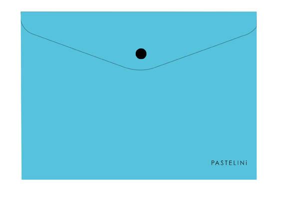 Spisové desky s drukem PASTELINI - A4 / modrá
