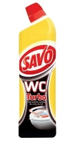 SAVO WC gel - Turbo / 750 ml