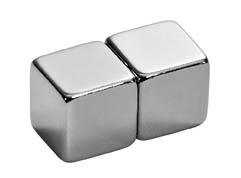 Magnety neodymové MIKOV super silné - 10 x 10 x 10 cm / 2 ks