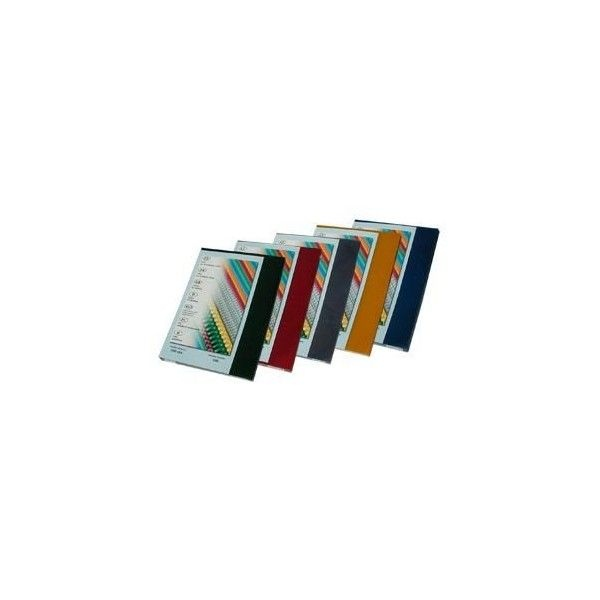 Desky pro kroužkovou vazbu přední strana - A4 / modrá / 100 ks