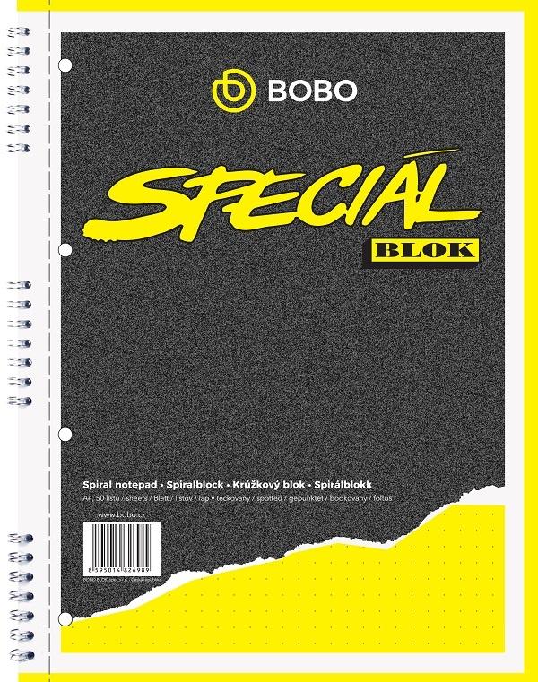 Blok BOBO speciál - A4 / tečkovaný