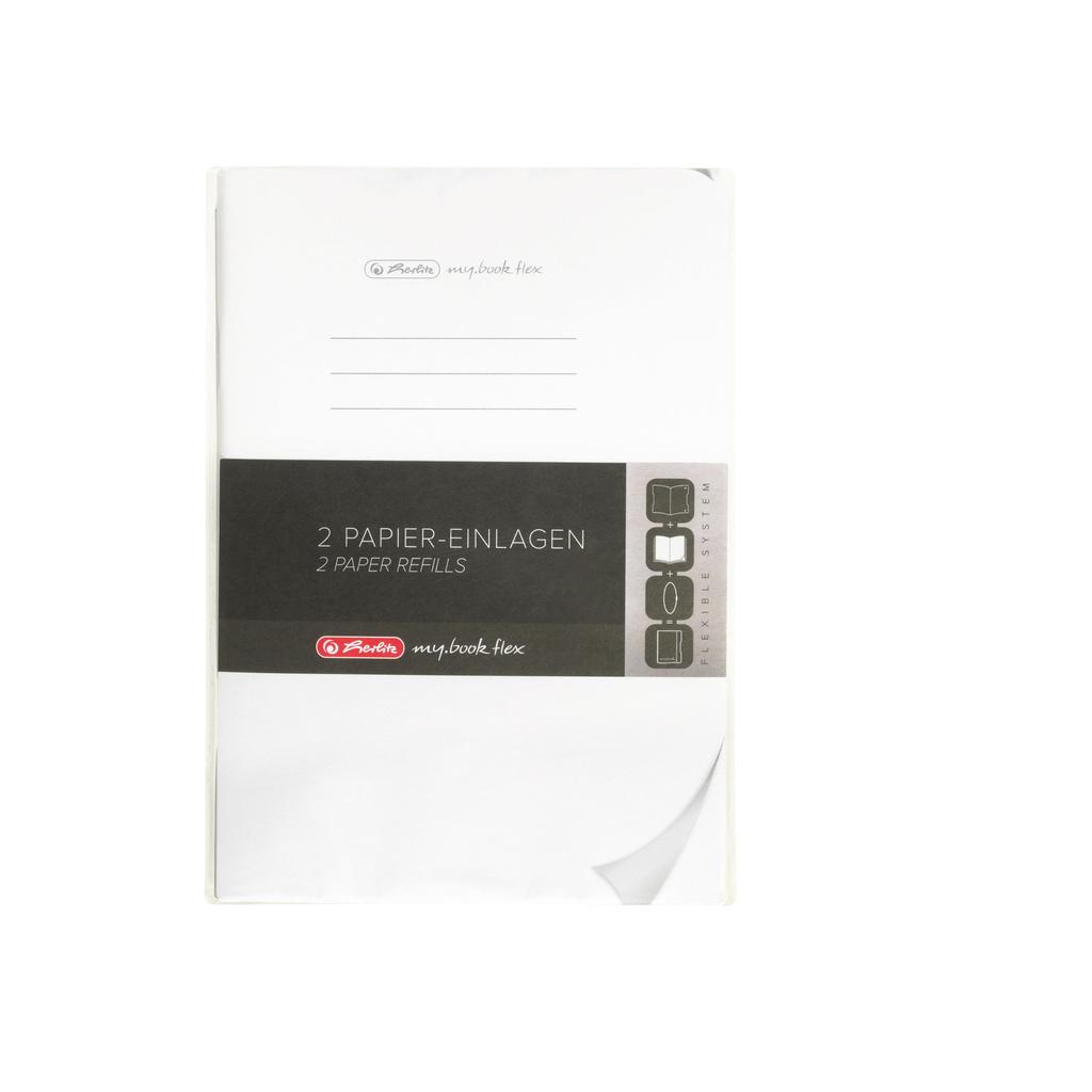 Sešit my.book flex - A5 / náhradní náplň / 2 x 40 listů / čistý