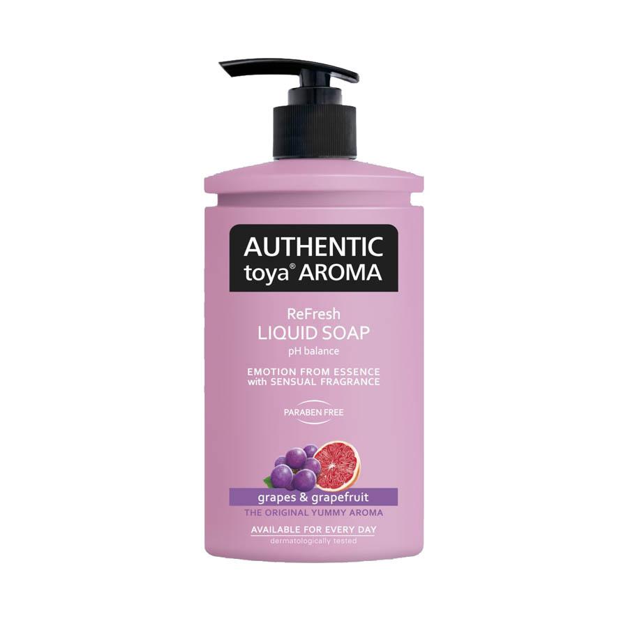 Mýdla tekutá AUTHENTlC - hrozny a grep / 400 ml