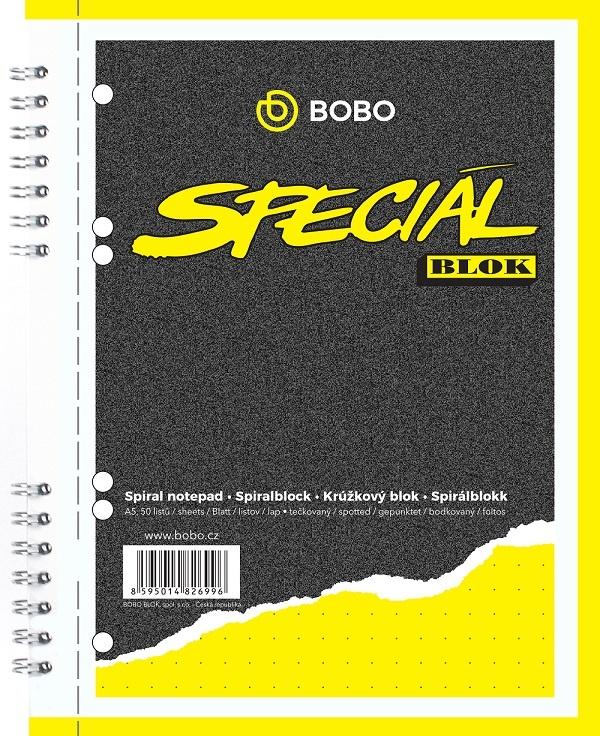 Blok BOBO speciál - A5 / tečkovaný