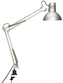 Lampa Halogen MAUL STUDY - stříbrná