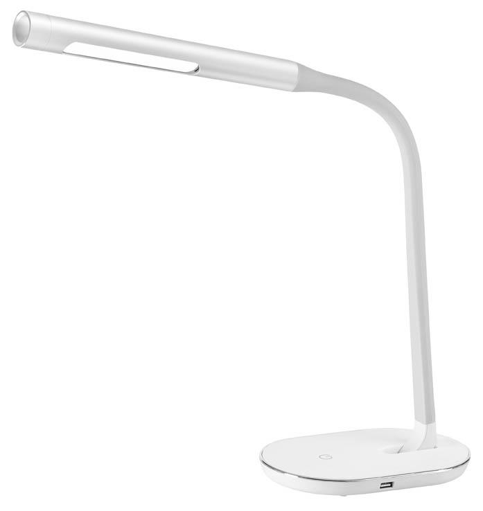 Lampa LED stmívatelná - bílá