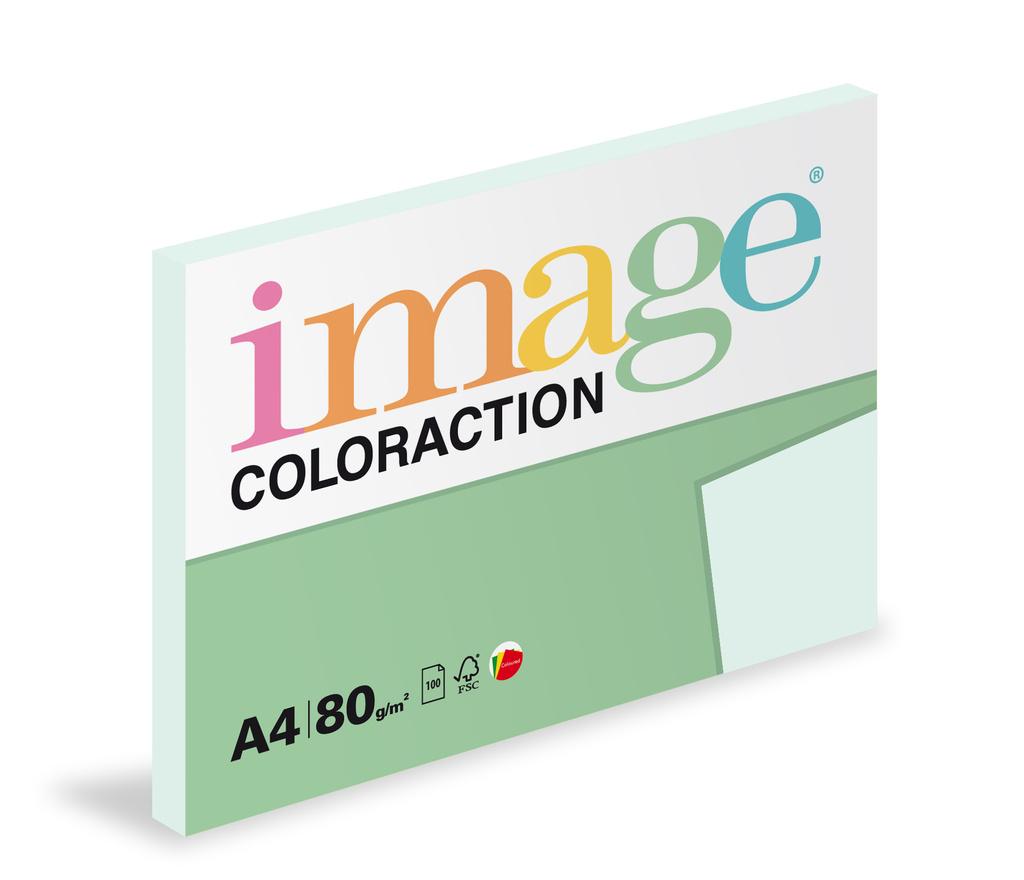 Xerografický papír BAREVNÝ - Lagoon / pastelově světle modrá / 100 listů / BL29