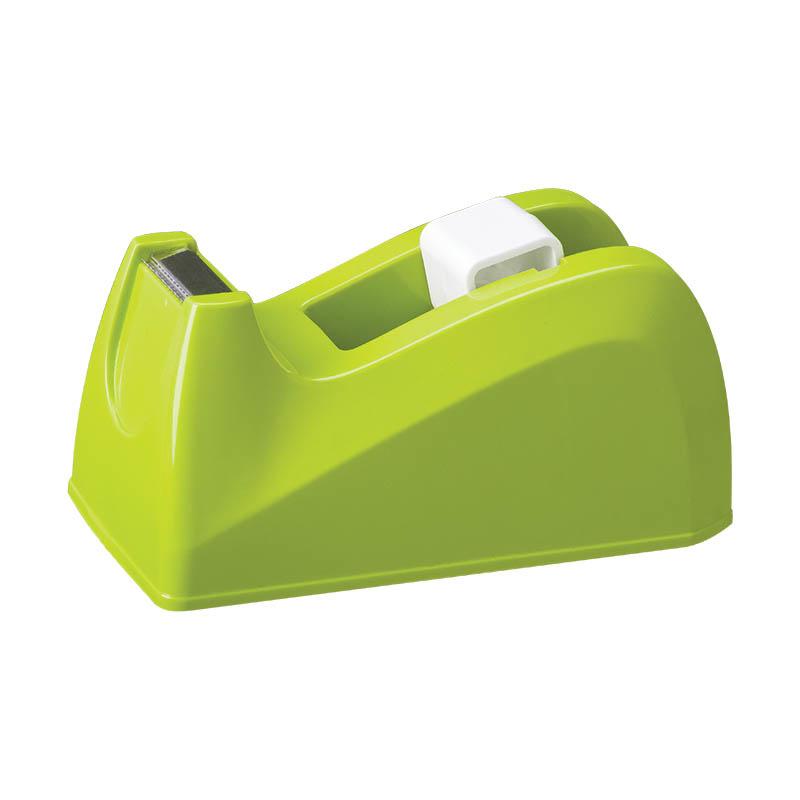 Stolní odvíječ lepicí pásky DELI - zelená