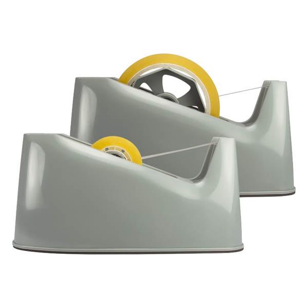 Stolní odvíječ lepicí pásky Milan 210 - šedá