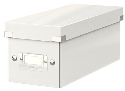 Krabice Leitz Click & Store - na CD / bílá