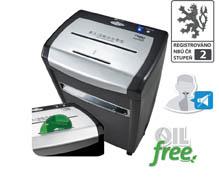 Skartovací stroj Dahle PaperSAFE® - 22319 / řez 4,5 x 45 mm