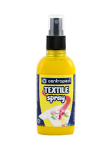 TEXTILE SPRAY 1139 Centropen - žlutá