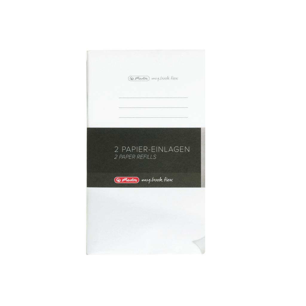 Sešit my.book flex - A5 / náhradní náplň / 2 x 40 listů / linka