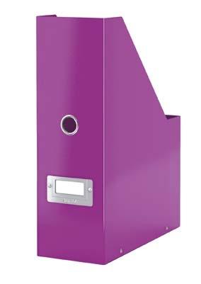 Stojan na časopisy Leitz Click & Store - fialová