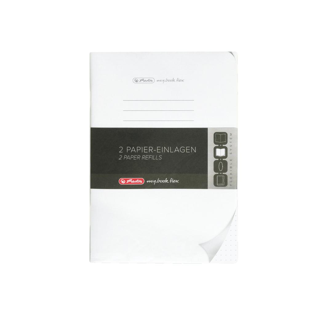 Sešit my.book flex - A5 / náhradní náplň / 2 x 40 listů / tečkovaný
